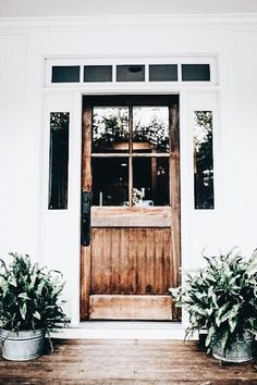 stunning front door | wooden door, glass panels in door, landscape, home inspiration, house, living space, room, scandinavian, nordic, inviting, style, comfy, minimalist, minimalism, minimal, simplistic, simple, modern, contemporary, classic, classy, chic, girly, fun, clean aesthetic, bright, white, pursue pretty, style, neutral color palette, inspiration, inspirational, diy ideas, fresh, stylish, 2018, sophisticated
