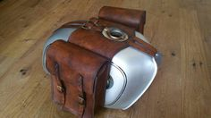 Leather tank bag for Bmw r/r 5/6 r/7 Cafe racer Scrambler Cafe racer tank bags…