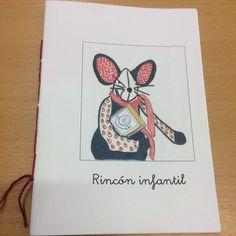 Libreta con la imágen de nuestra mascota, Rita. Nombre elegido por nuestros usuarios en el mes de abril. Thing 1, Notebook, Shells, The Notebook, Exercise Book, Scrapbooking