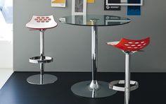 JAM height-adjustable plastic stool - Calligaris CS/1035