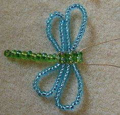 Wire Jewelry Tutorial ~ How to make a dragon fly component with wire... #wirejewelry