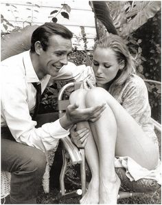 They wouldn't have known it, but in 1961 in the Bahamas, Sean Connery and Ursula Andress weren't just making Dr No - the first James Bond film - they were making history.