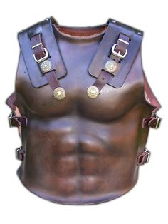 Leather Muscle Cuirass Armour - Hand Made