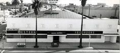 Western Recorders at 6000 Sunset Boulevard in Hollywood in the 1960s