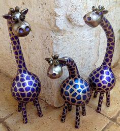 Purple Giraffe. via Etsy.