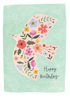 Leading Illustration & Publishing Agency based in London, New York & Marbella. Happy Birthday Images, Happy Birthday Greetings, Birthday Messages, Birthday Cards, Humor Birthday, Happy Birthday Illustration, Floral Illustrations, Card Making, Greeting Cards