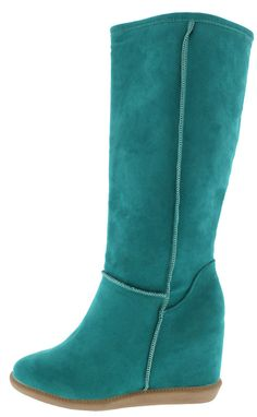 TOM2 MINT WEDGE BOOT ONLY $16.88