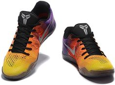 Nike Kobe XI Mens Basketball Shoes rainbow4