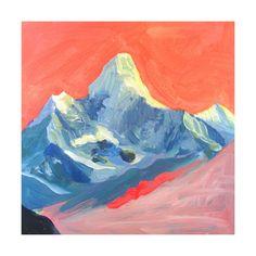 Technicolor Mt Everest Wall Art Prints