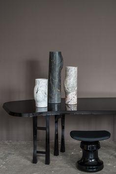 5 Astounding Diy Ideas: Old Vases Inspiration gold vases interior.Vases Crafts Ideas vases ideas how to make. Luxury Furniture, Modern Furniture, Furniture Design, Furniture Styles, Furniture Decor, Architectural Digest, Vase Design, Paper Vase, Inspiration Design