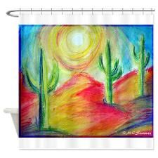 Desert, Southwest art! Shower Curtain
