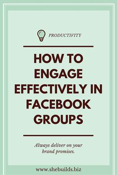 Engage Effectively in Facebook Biz Groups With optimal health often comes clarity of thought. Click now to visit my blog for your free fitness solutions!
