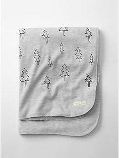 Organic tree stroller blanket | Gap