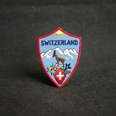 Travel souvenir from Switzerland. Vintage by MademoiselleChipotte, $24.95