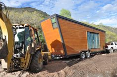 Woody the Trailer exterior construction
