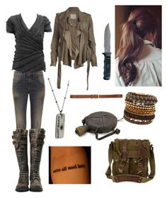 """""""The Scorch Trials"""" by azariahgriggs ❤ liked on Polyvore featuring 6397, ALDO, Belstaff, Marc Jacobs, AllSaints, H&M, women's clothing, women, female and woman"""