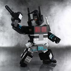 Transforming LEGO Nemesis Prime is *almost* cute