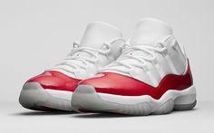 "Releasing in Europe: Air Jordan 11 Retro Low ""Cherry"" & Midnight Navy - EU Kicks: Sneaker Magazine"