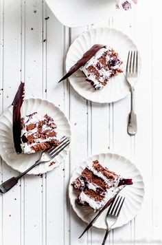 swiss black fOrest cake