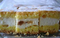 Lijena pita od sira (s grožđicama) Romanian Food, No Cook Desserts, Vanilla Cake, Tiramisu, Sandwiches, Cheesecake, Toast, Cookies, Ethnic Recipes