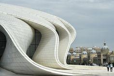 architecture - Seven of Zaha Hadid's most dazzling creations Zaha Hadid Buildings, Zaha Hadid Architecture, Chinese Architecture, Architecture Office, Futuristic Architecture, Modern Buildings, Beautiful Buildings, Amazing Architecture, Architecture Design