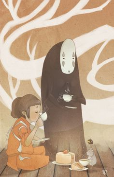 spirited away.  Studio Ghibli