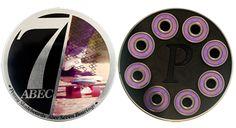 Penny Abec 7 Skateboard Bearings - One Size by Penny. Penny Abec 7 Skateboard Bearings - One Size. One Size. Skateboard Gear, Skateboard Bearings, Penny Skateboard, Cheap Scooters, Skate Bearings, Best Home Gym Equipment, Longboarding, Bmw Logo, Skateboards