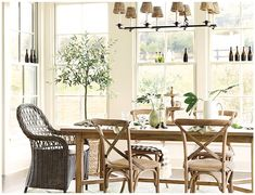 Ballard Designs | Laurel Dining Room