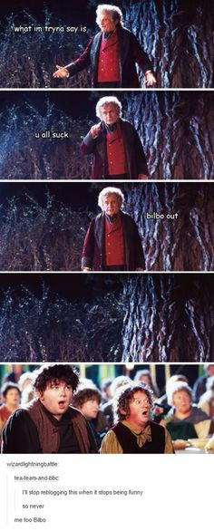 Bilbo out :)