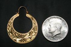 Classic Cuban Hoop Earrings | Key West Jewelry Shop