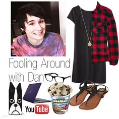 """""""Fooling Around with Dan"""" by tanyamalik13 on Polyvore"""