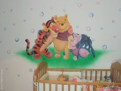 winni the pooh baby rooms | - KIDS ROOMS - Winnie-the-Pooh, Tiger, Piglet and Eeyore - baby room ...