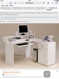 Computer Table Ideas? Http://www.docxie.com/best Ikea Computer Desk  Design Inspirations/wonderful Glass Top L Shaped Computer Desk Ikea Design With Unique   ...