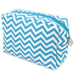 Cathys Concepts Chevron Spa Bag Aqua ** Continue to the product at the image link. (Note:Amazon affiliate link)