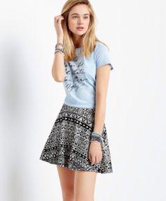 Love the tribal skirt