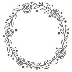 I think I'm in love with this design from the Silhouette Design Store! I think I'm in love with this design from the Silhouette Design Store! Hand Embroidery Patterns Free, Embroidery Flowers Pattern, Simple Embroidery, Folk Embroidery, Paper Embroidery, Free Machine Embroidery, Vintage Embroidery, Embroidery Stitches, Geometric Embroidery