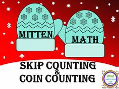 Task cards and games for learning to count by 1's, 5's, 10's, 25's-all applicable to counting U.S. coins. Specialized 100 chart and mini lessons, teaching suggestions. Intended for guided math groups, math centers.