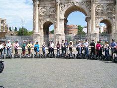 Arco di Costantino a Roma. Don't miss www.segwayrome.it