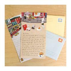 DOA Cute letter paper set with New York illustration (http://www.fallindesign.com/doa-cute-letter-paper-set-with-new-york-illustration/)