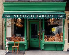 Bakery Store, Bakery Sign, Bakery Display, Bakery Cafe, Vintage Bakery, Vintage Cafe, Vintage New York, Vintage Stores, Vintage Italy
