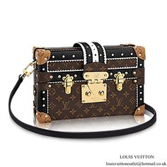 cf87a9c1780d Louis Vuitton Petite Malle M44216 Monogram Canvas Monogram Canvas