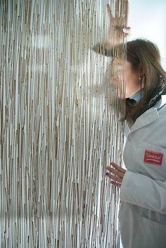 ecosense™ Green Thatch Resin Panel #donlikeitloveit #ecosense #interiordesign #resinpanel