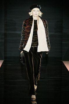 Armani Privé Fall 2005 Couture Fashion Show - Andreea Stancu