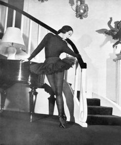 Marie France by Boris Lipnitzki, 1949, Paris