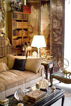 爱 Chinoiserie? Mais Qui! 爱 home decor in Chinese Chippendale style - Coco Chanel's Paris apartment