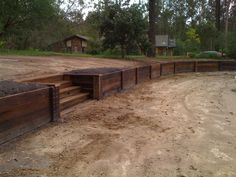 wood retaining walls | ... .com/wood/wood-retaining-wall-timber-walls-fence-contractor.htm