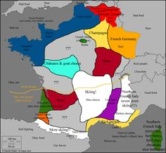 France Stereotype Map