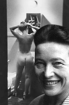Scarletjohansonização de Simone de Beauvoir