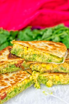Vegan Cheese Quesadillas are live and it's time to jump on the Mexican food train – with just 6 ingredients, 3 easy steps and of course gluten free. You know for sure that I eat Mexican food almost every week. I'm addicted to the flavors because I'm a kid that adores food full of flavor. Mexican food never...