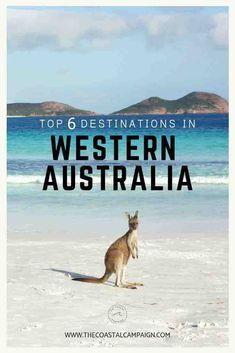 Top 6 Destinations in Western Australia. 6 destinations you simply cannot miss when visiting Western Australia Perth, Brisbane, Melbourne, Sydney, Australia Travel Guide, Visit Australia, Western Australia, Queensland Australia, Amazing Destinations